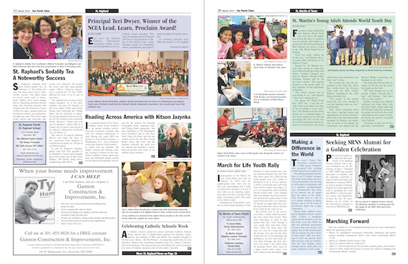 March 2019 Our Parish Times