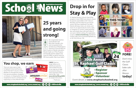 Sept. 16 School News