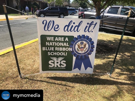 SRS the Only School in Montgomery County to Earn 2019 National Blue Ribbon