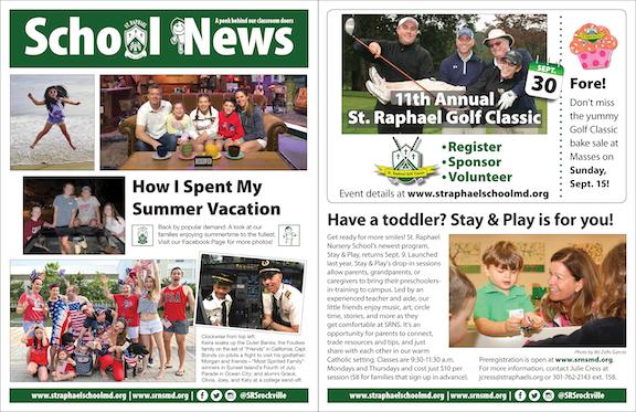 Sept. 1 School News