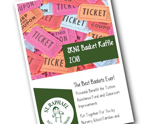 Cover of SRNS Baskets Raffle Program