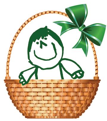 SRNS basket raffle logo
