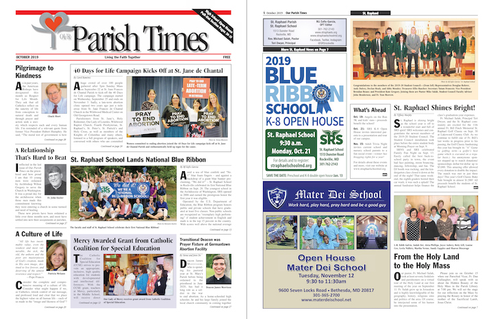 October 2019 Our Parish Times