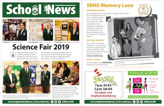 March 31 School News