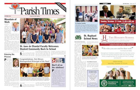 October 2018 Our Parish Times