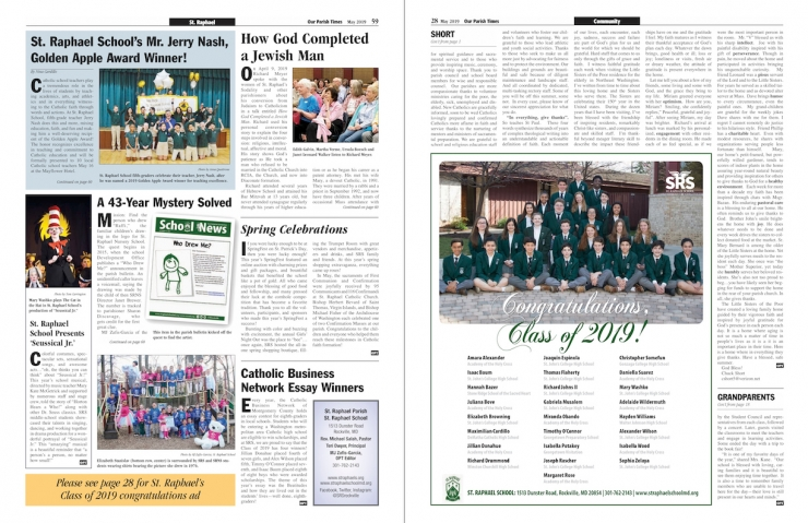 May 2019 Our Parish Times